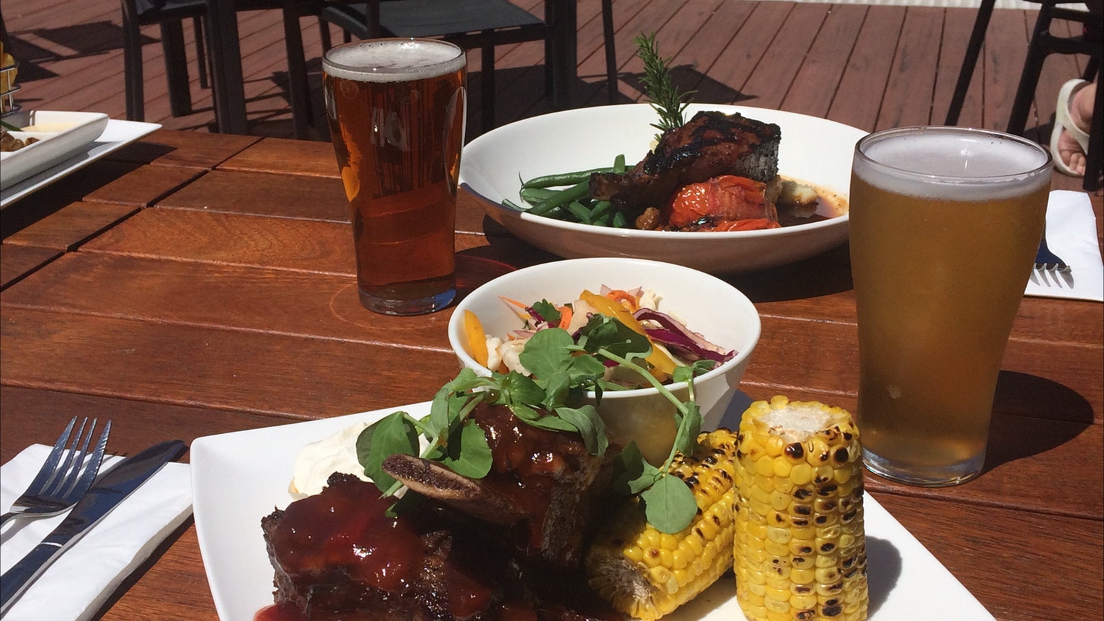 Steak, ribs and craft beer