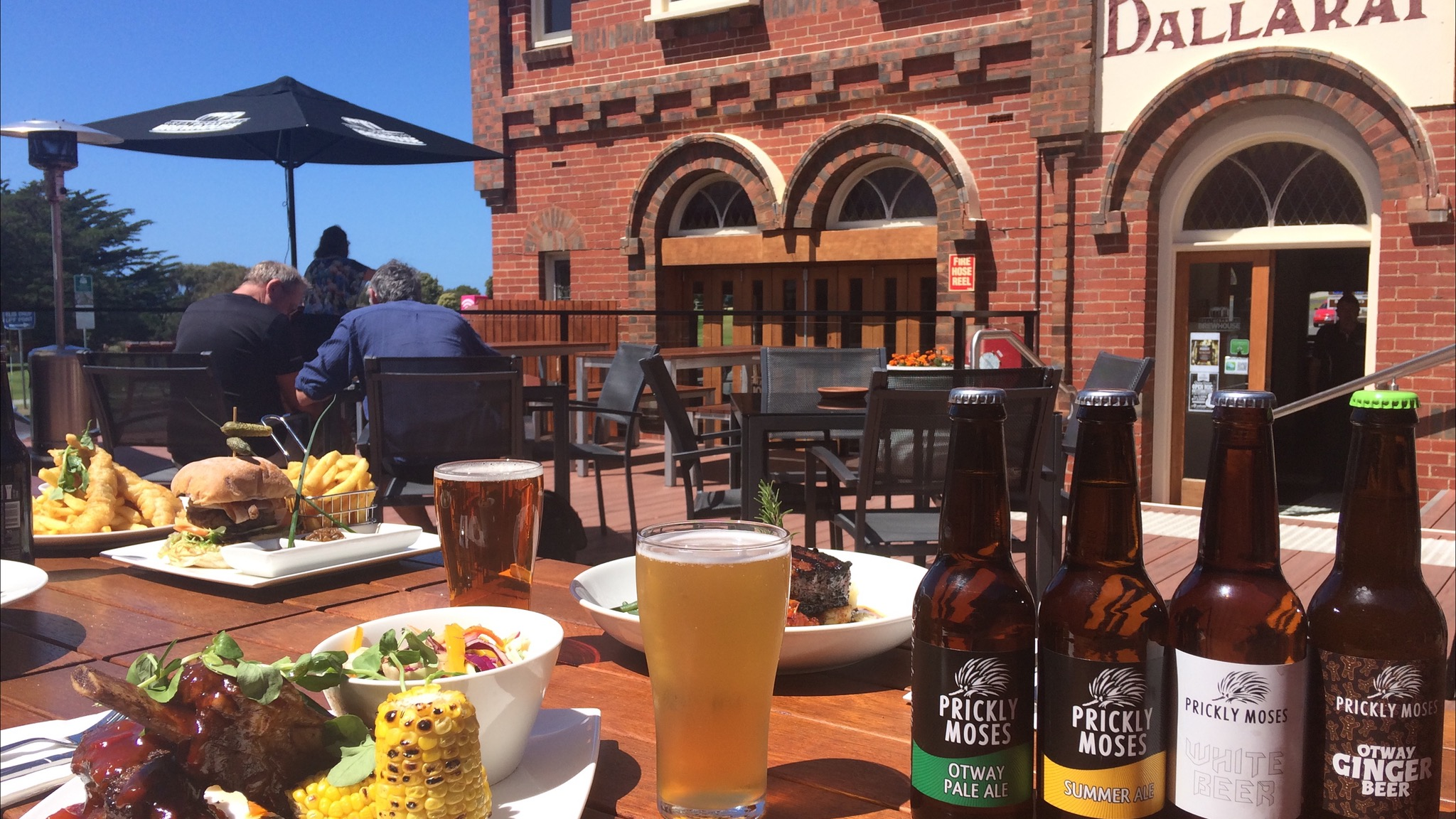 Beer Garden, Food and Craft Beer