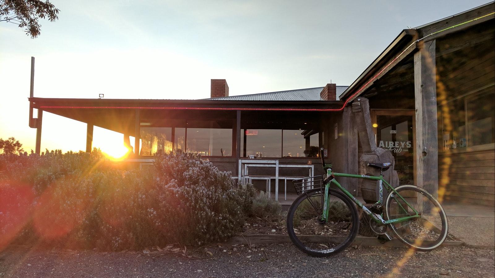 Bike @ the pub