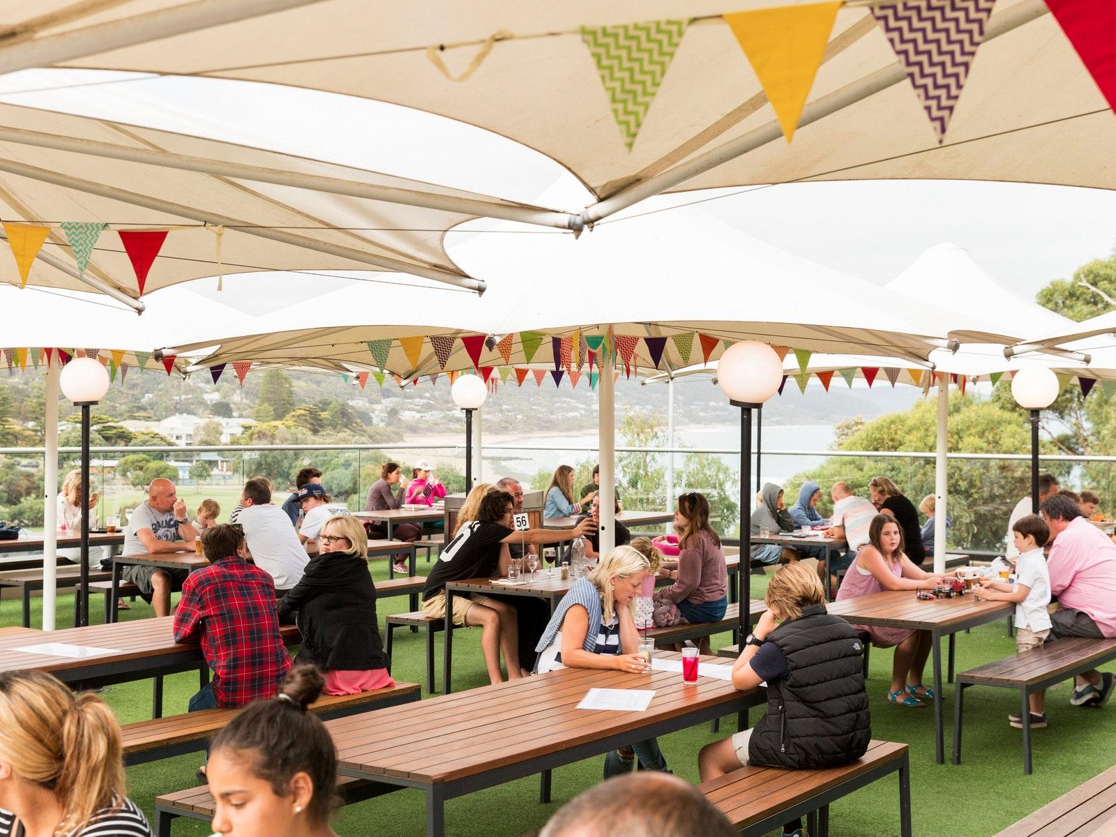 Lorne Hotel Beer Garden