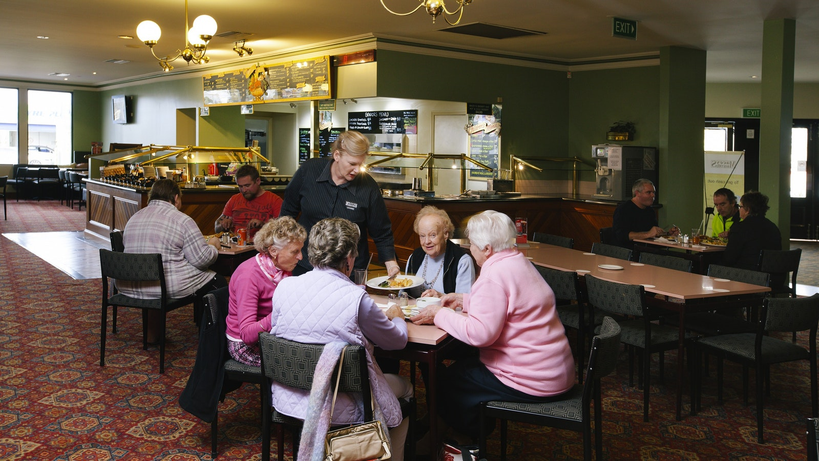 Our Bistro Has Plenty OF Room For The Whole Family