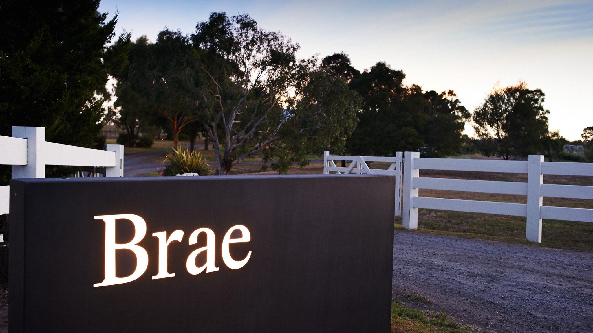 Brae entrance
