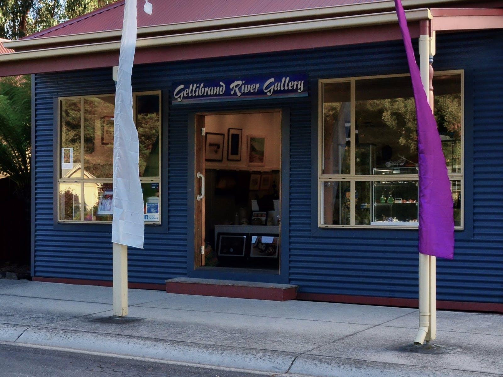 GelliBrand River Gallery building