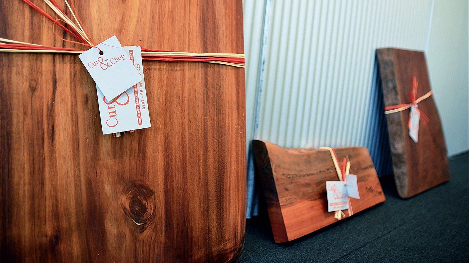 Chopping Boards by Bert Winchcombe