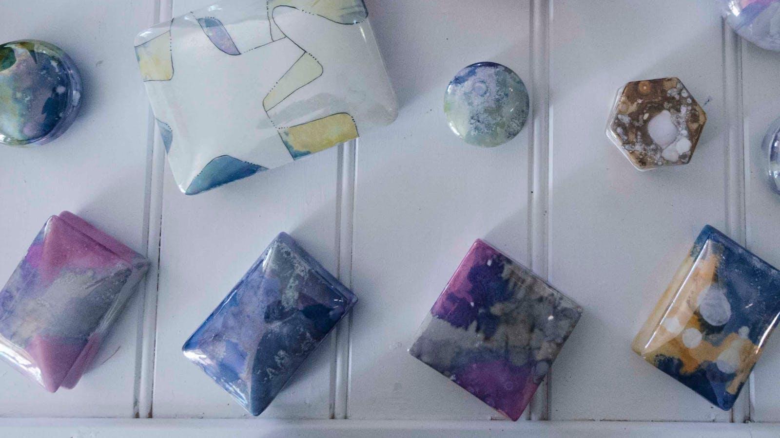 Ceramics Painted by Jan Verouden