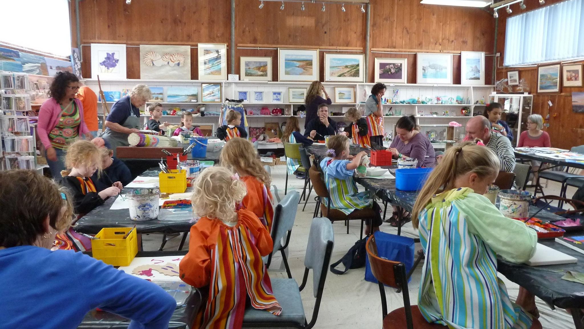 """""""Kids Art Bash"""" held every January."""