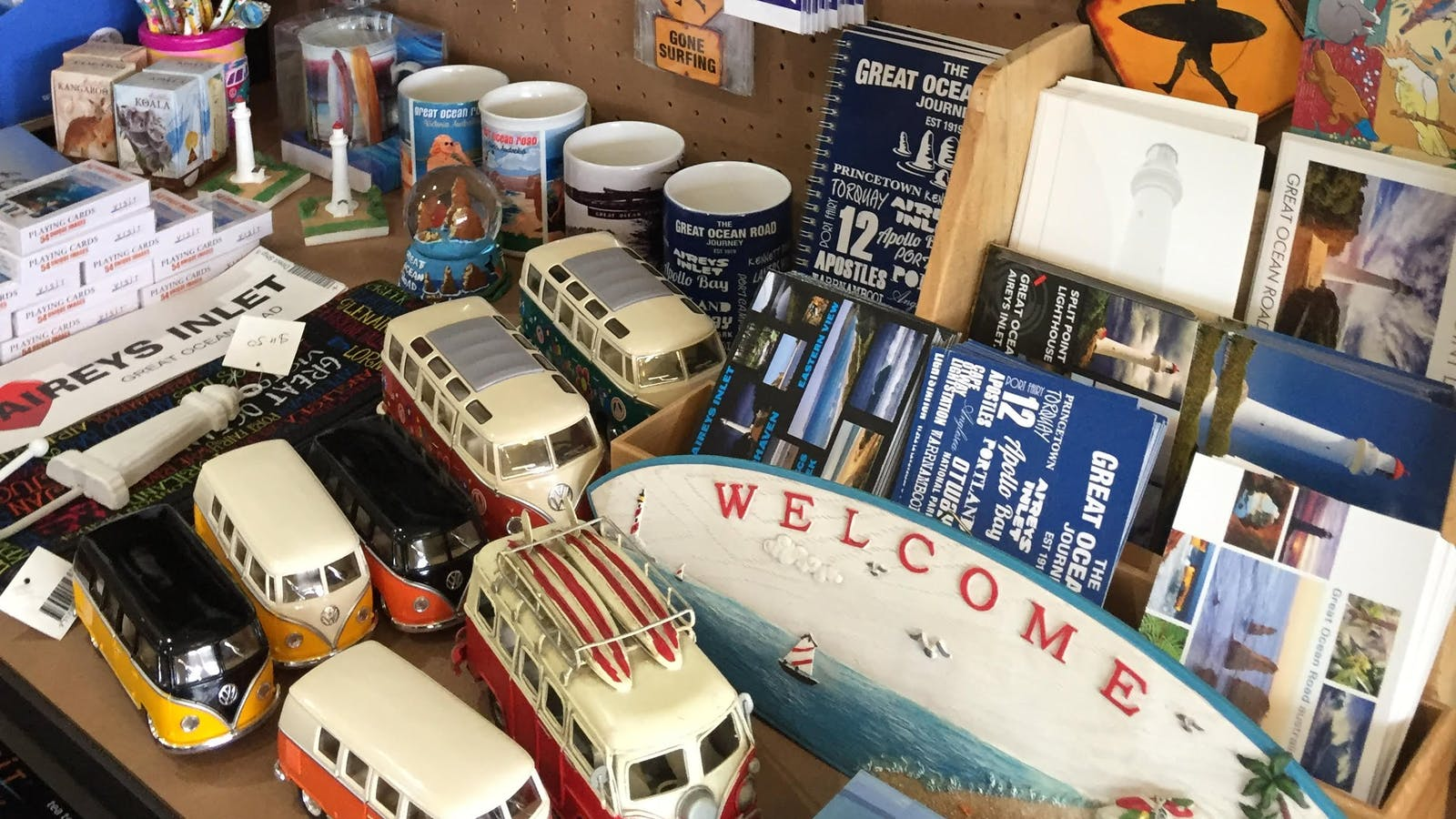 Mementos of your Great Ocean Road trip
