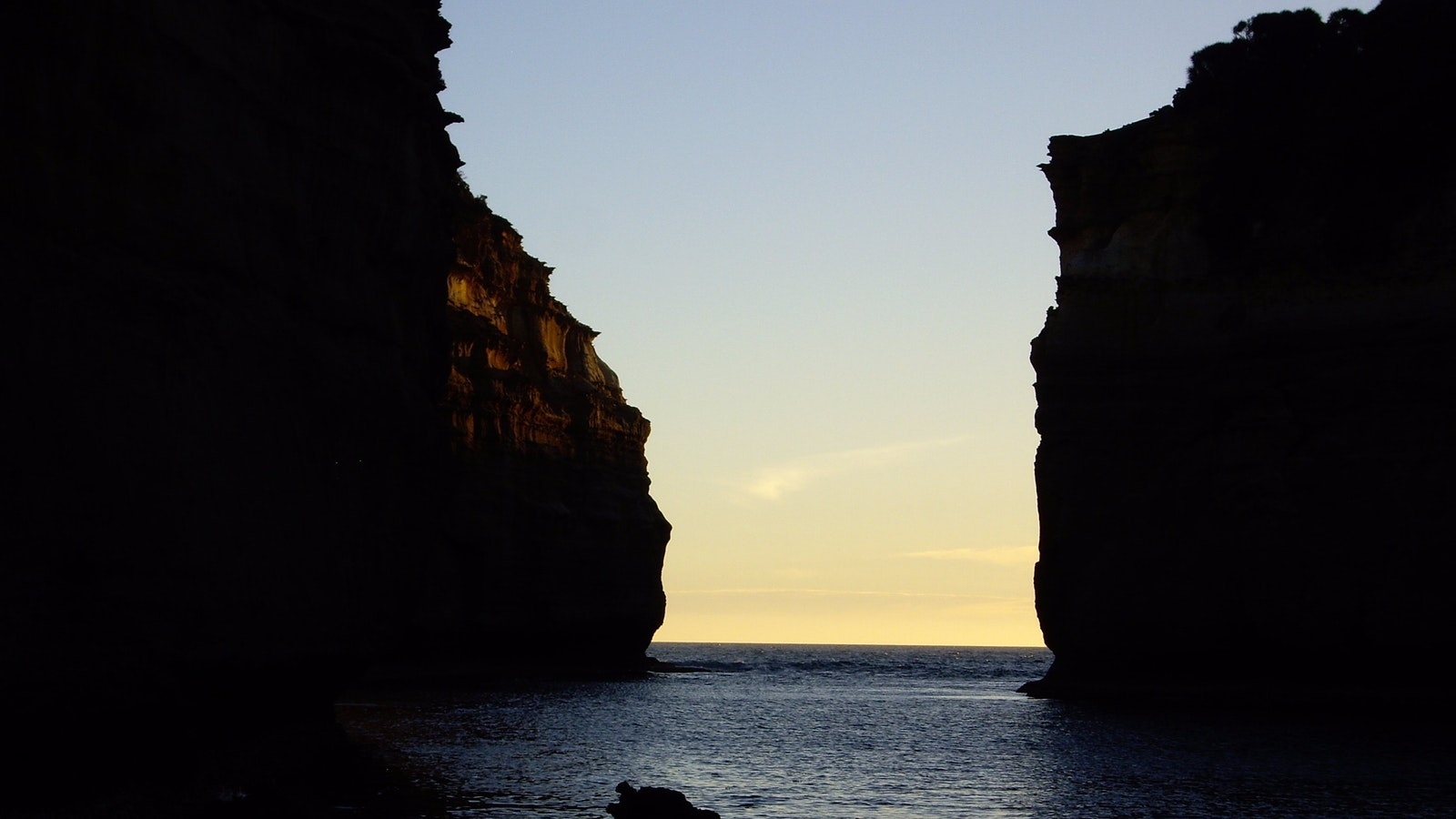 The Gorge on sunset
