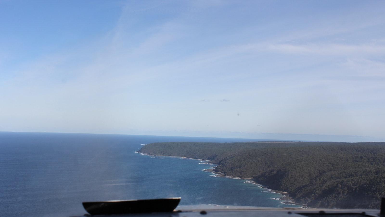 Looking towards Cape Otway
