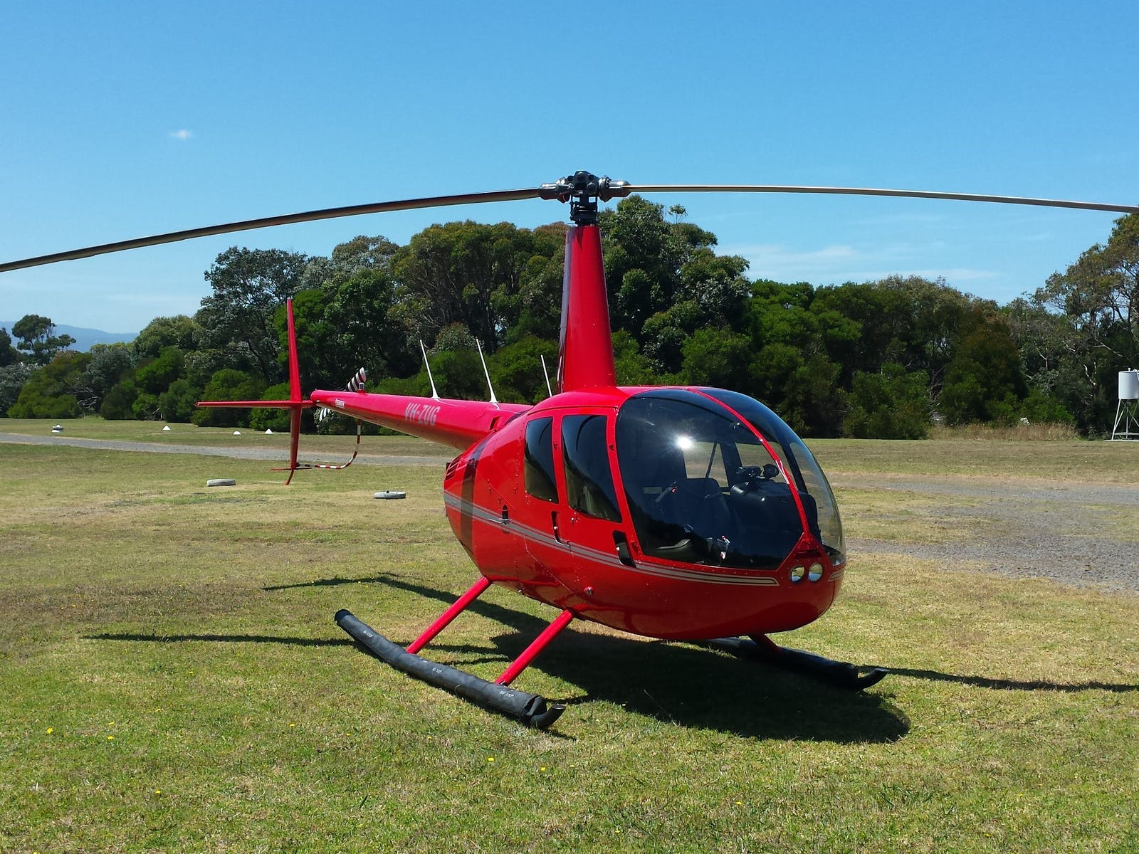 Our Robinson R44 Helicopter