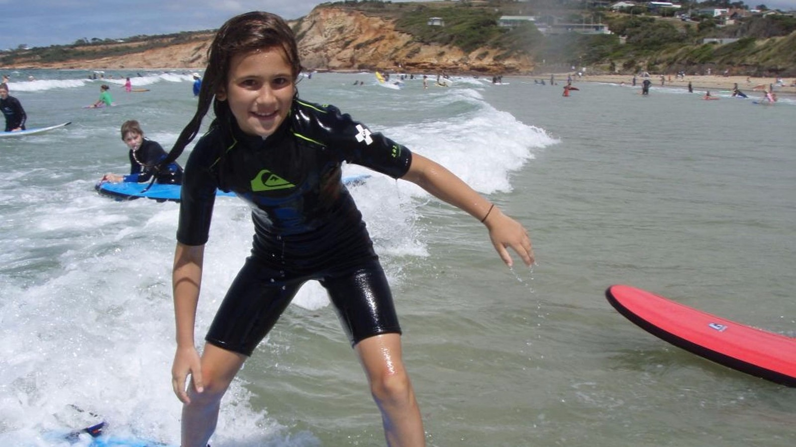 Anglesea Girl Surfing