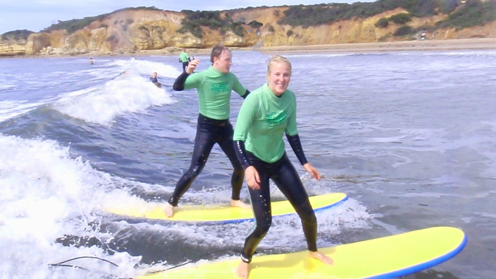 Learn to surf with the best