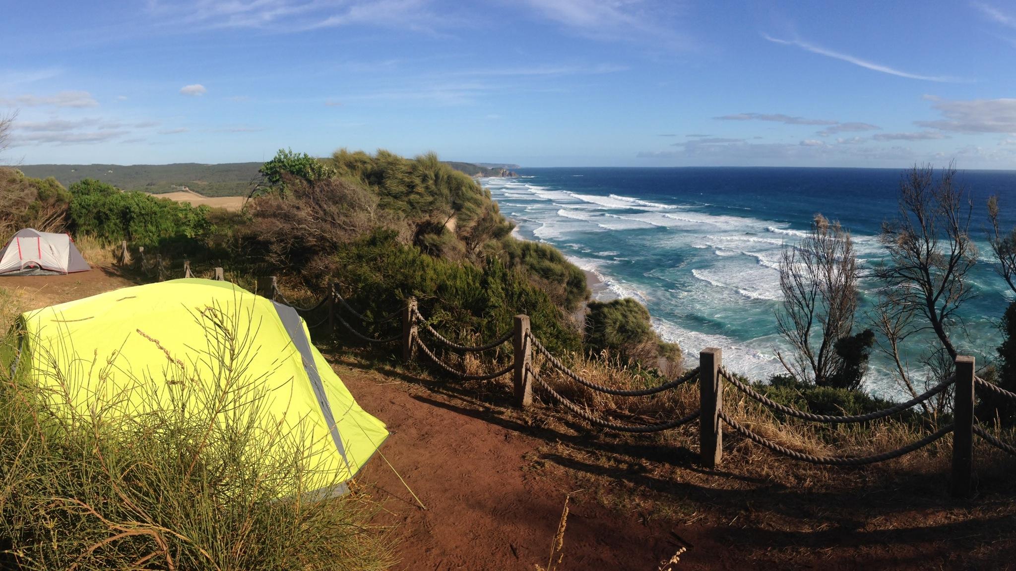 Great Ocean Walk Hike 2 Camp Johanna Beach