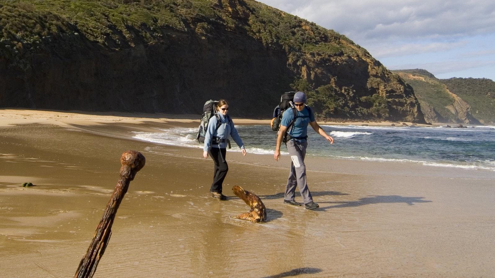 Mark Kininmonth on Great Ocean Walk