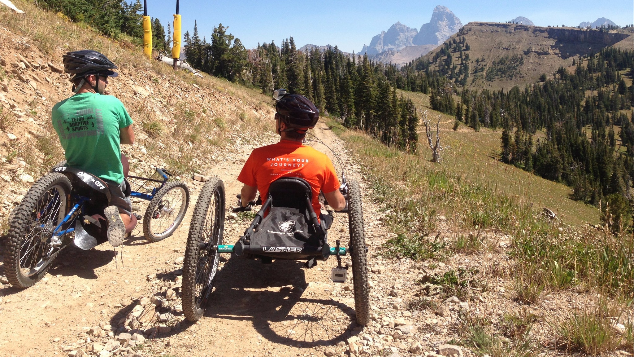 Mountain biking adaptive falls creek conference race dirt bike