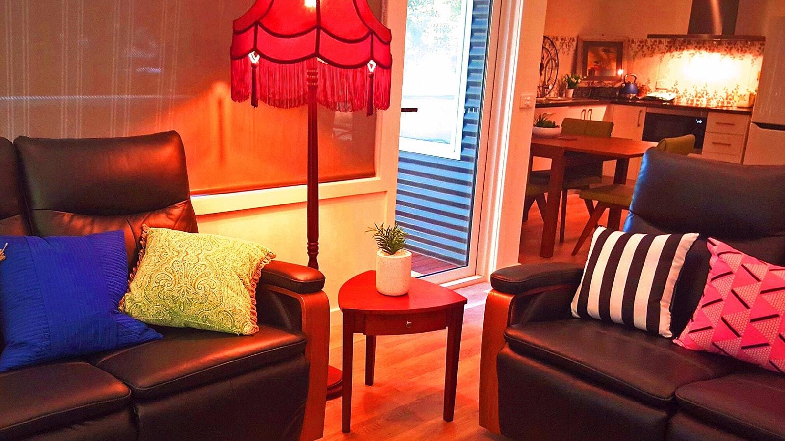 Lounge room Unit 1