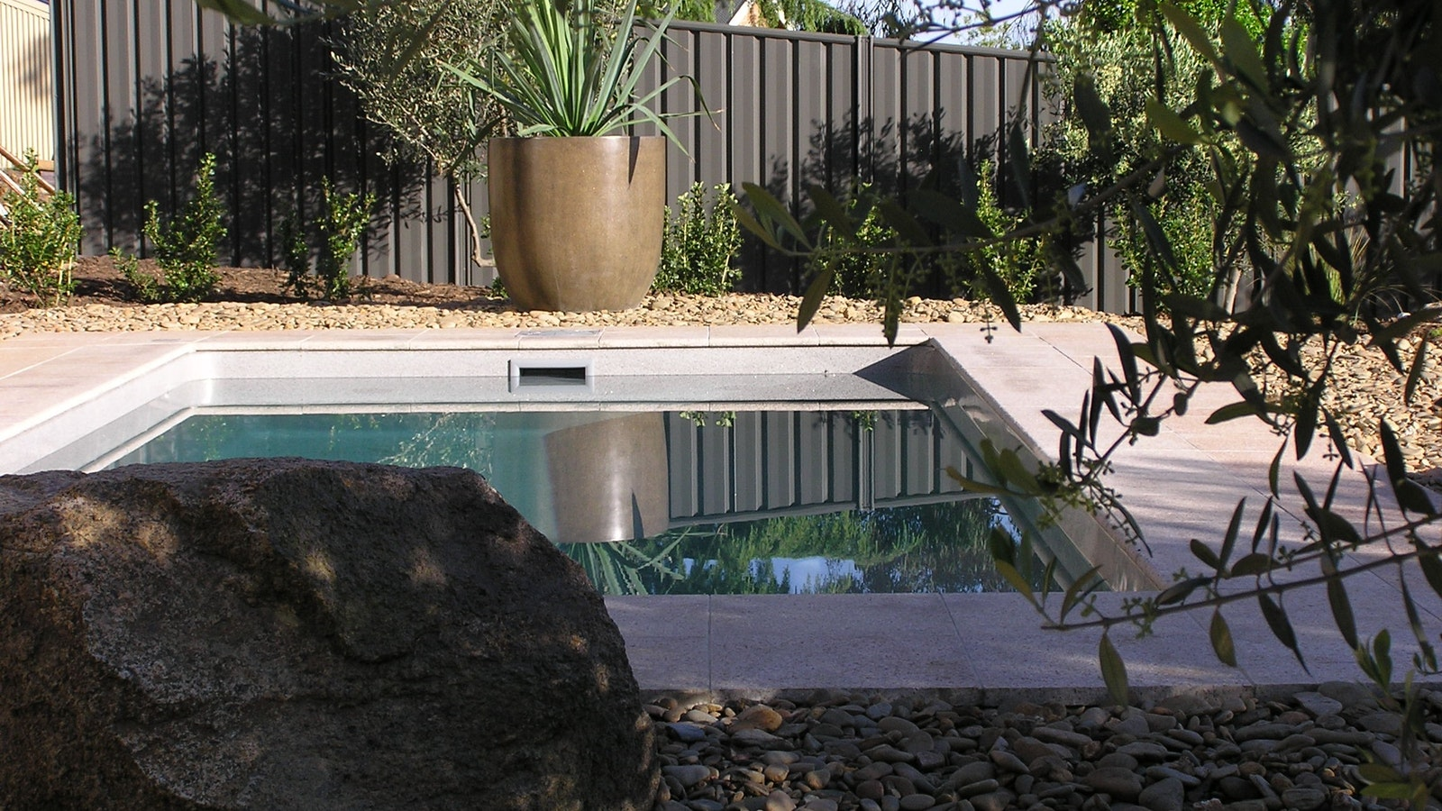 Private plunge pool of Villa Granito