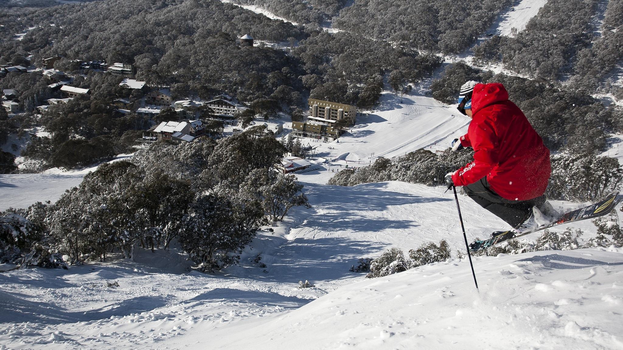 Location - FC Village Bowl Ski In Ski Out