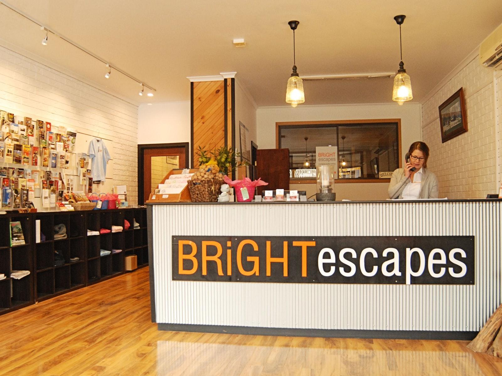 Bright Escapes Office