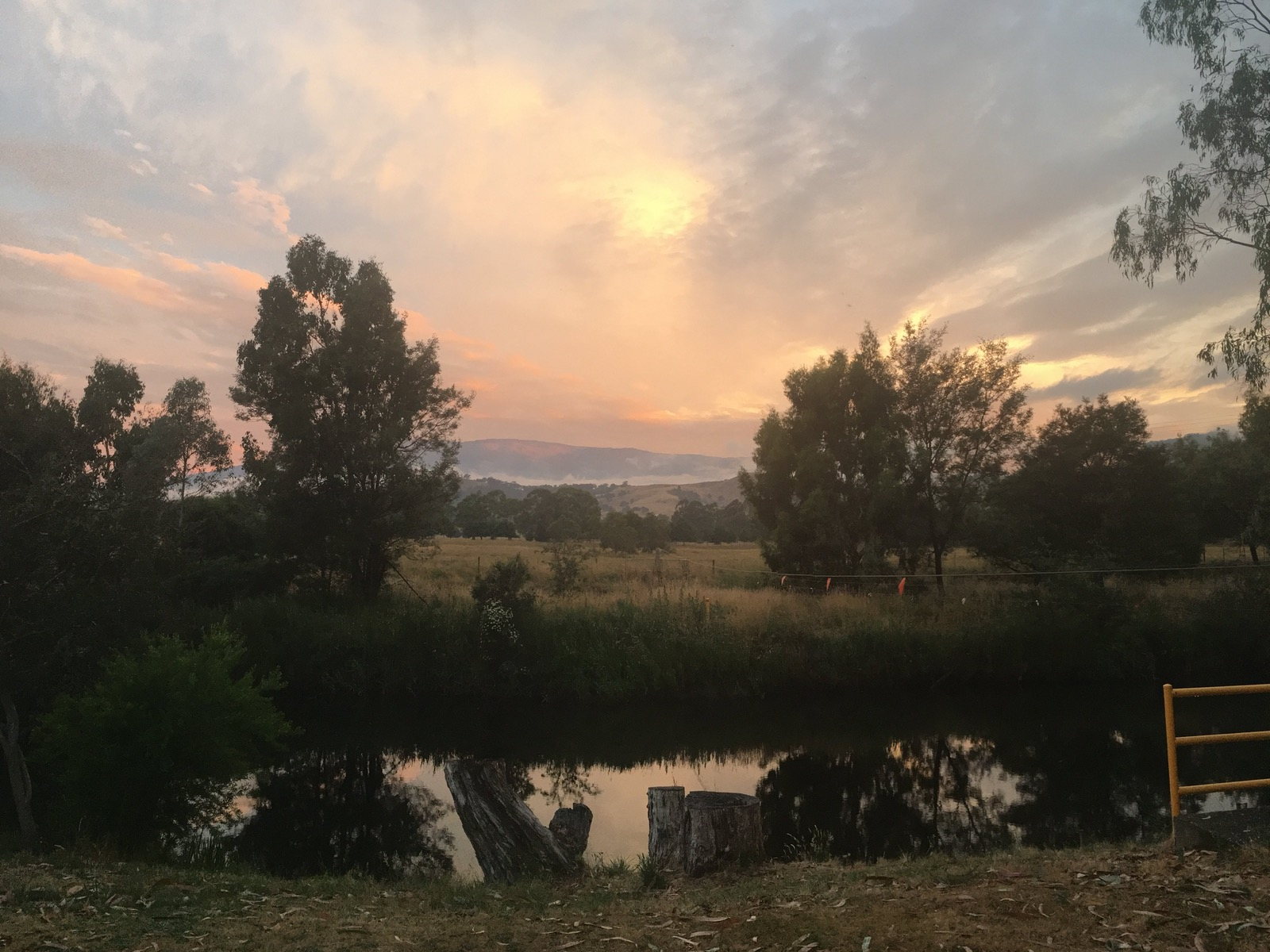 sunsets, camping, victoria, riverside, BIG 4 Taggerty