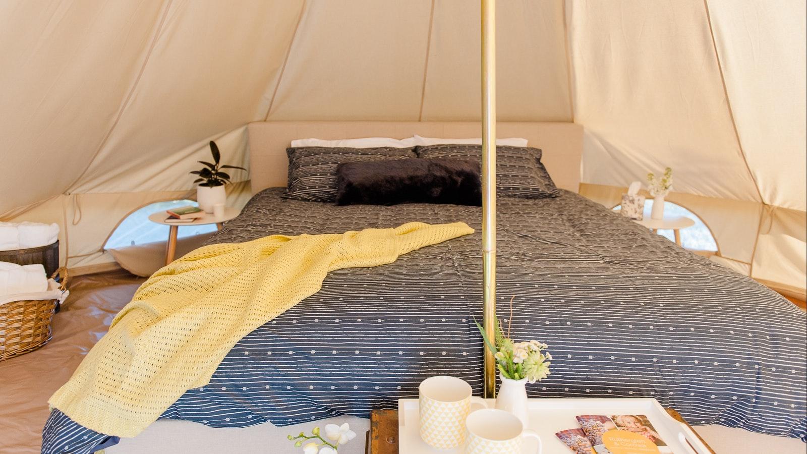 Nethrrby Tent Interior