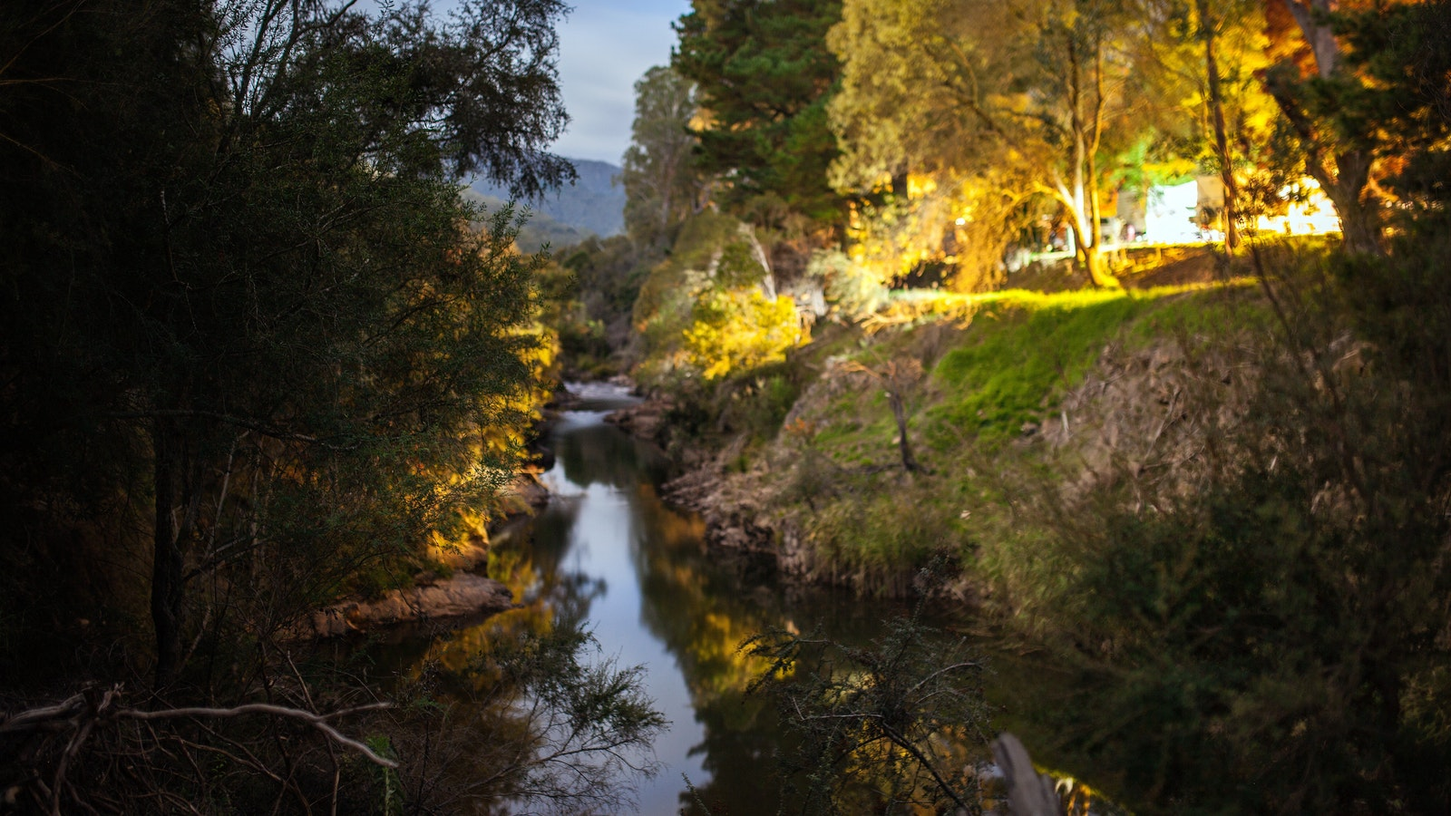 The impressive Ovens River on your doorstep