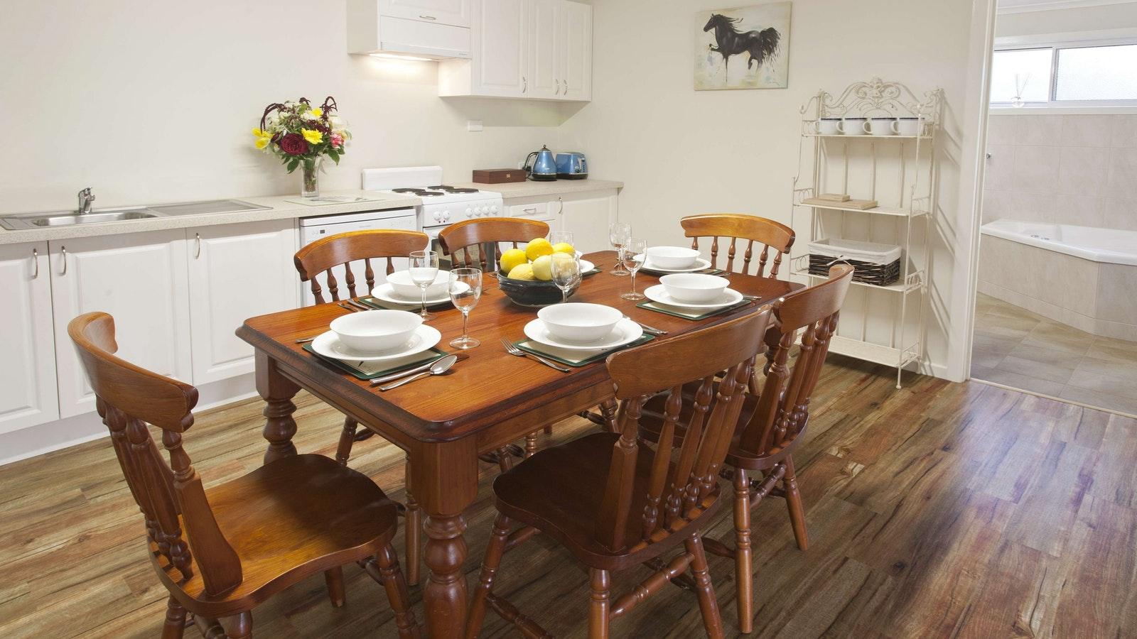 Brookfield Guest House kitchen