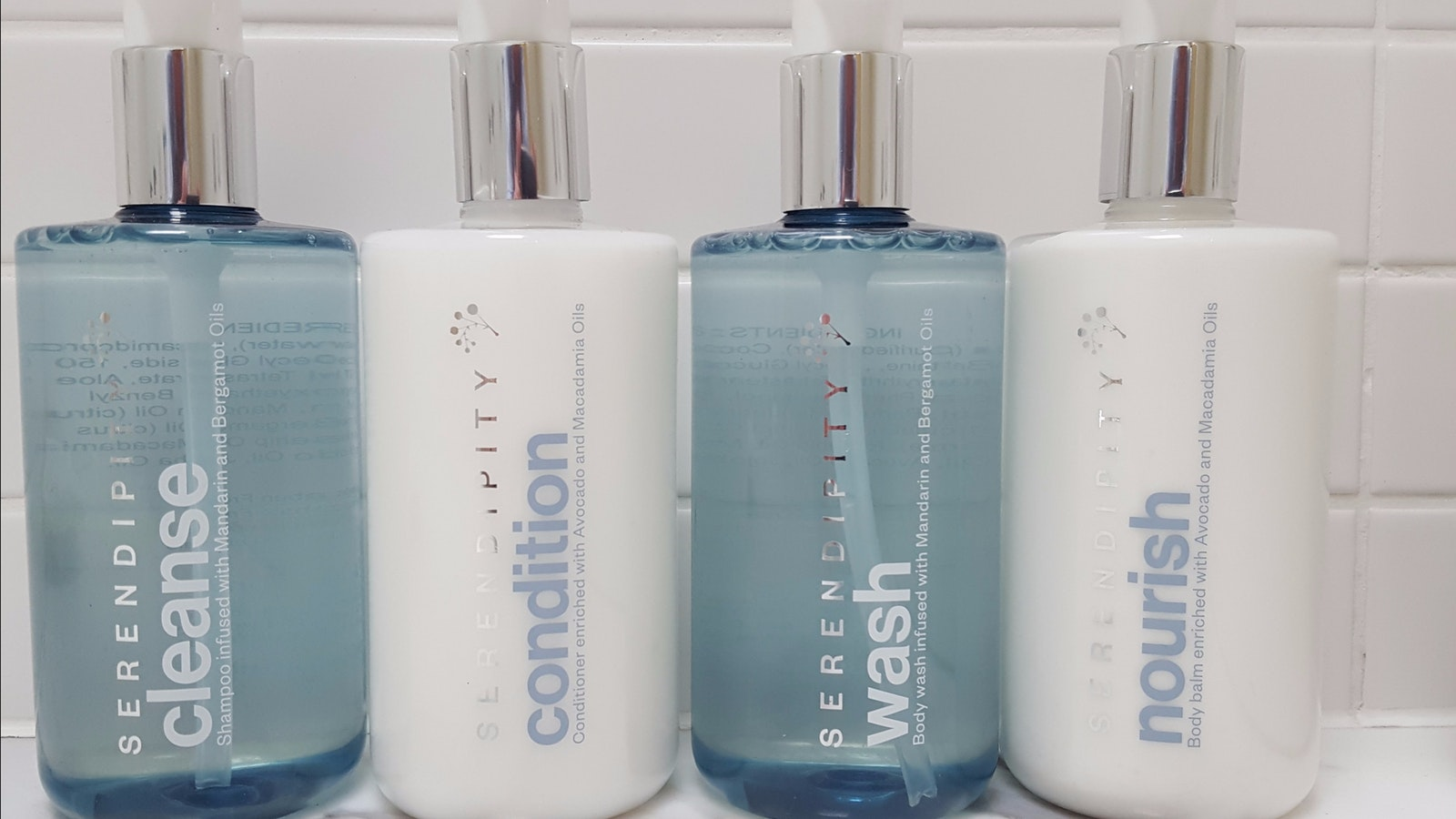 The Australian made toiletries are eco friendly and paraben free - caring for you and environment