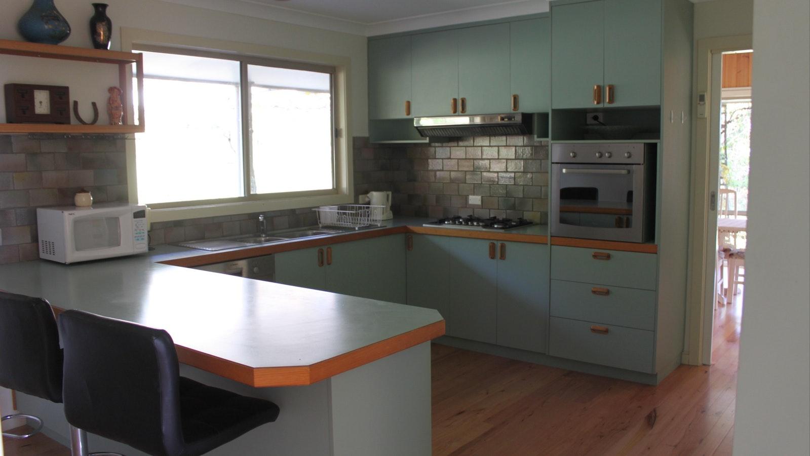 Kitchen in the Black Olive
