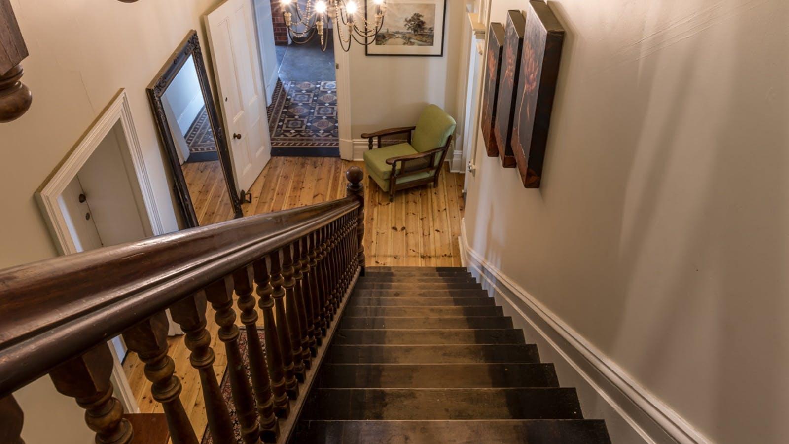 Staircase Alexandra Hotel