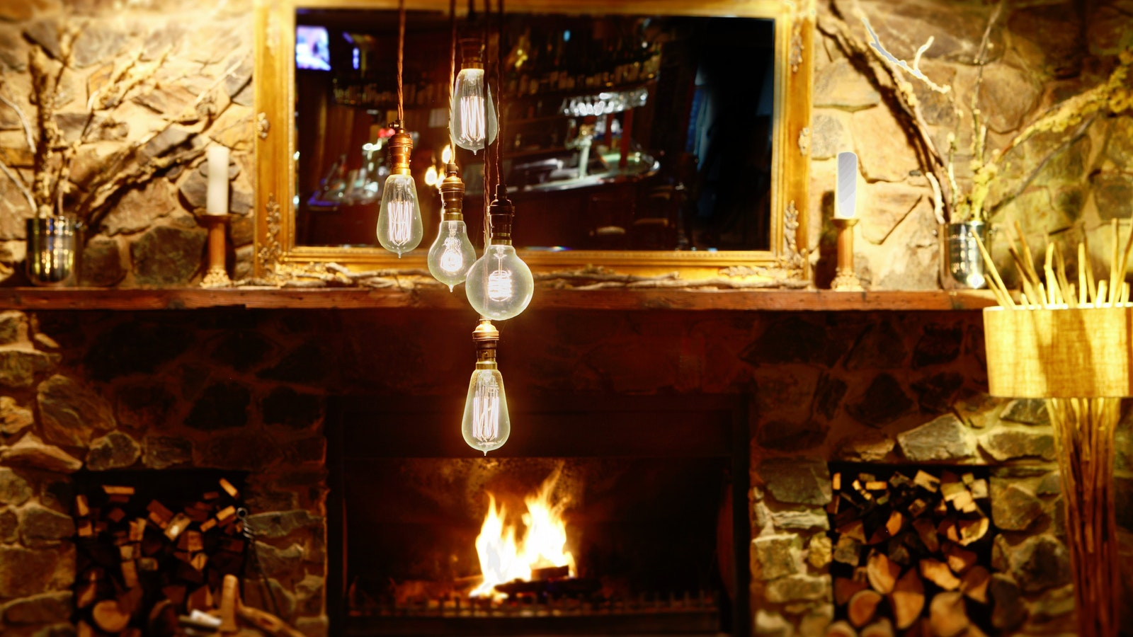 Peppers Rundells Alpine Lodge Dinner Plain Lounge Bar