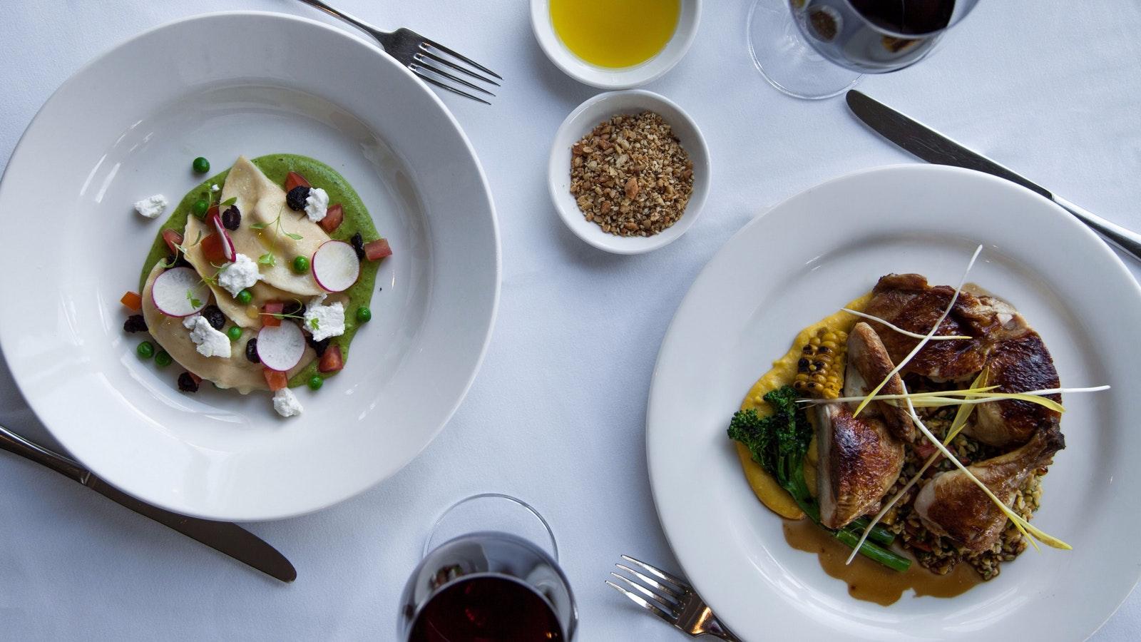 Enjoy dinner at Restaurant Merlot