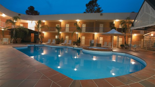 Heated Pool, Spa, Sauna & Gym