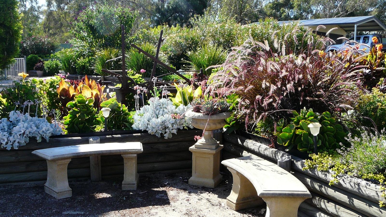 Garden surrounds