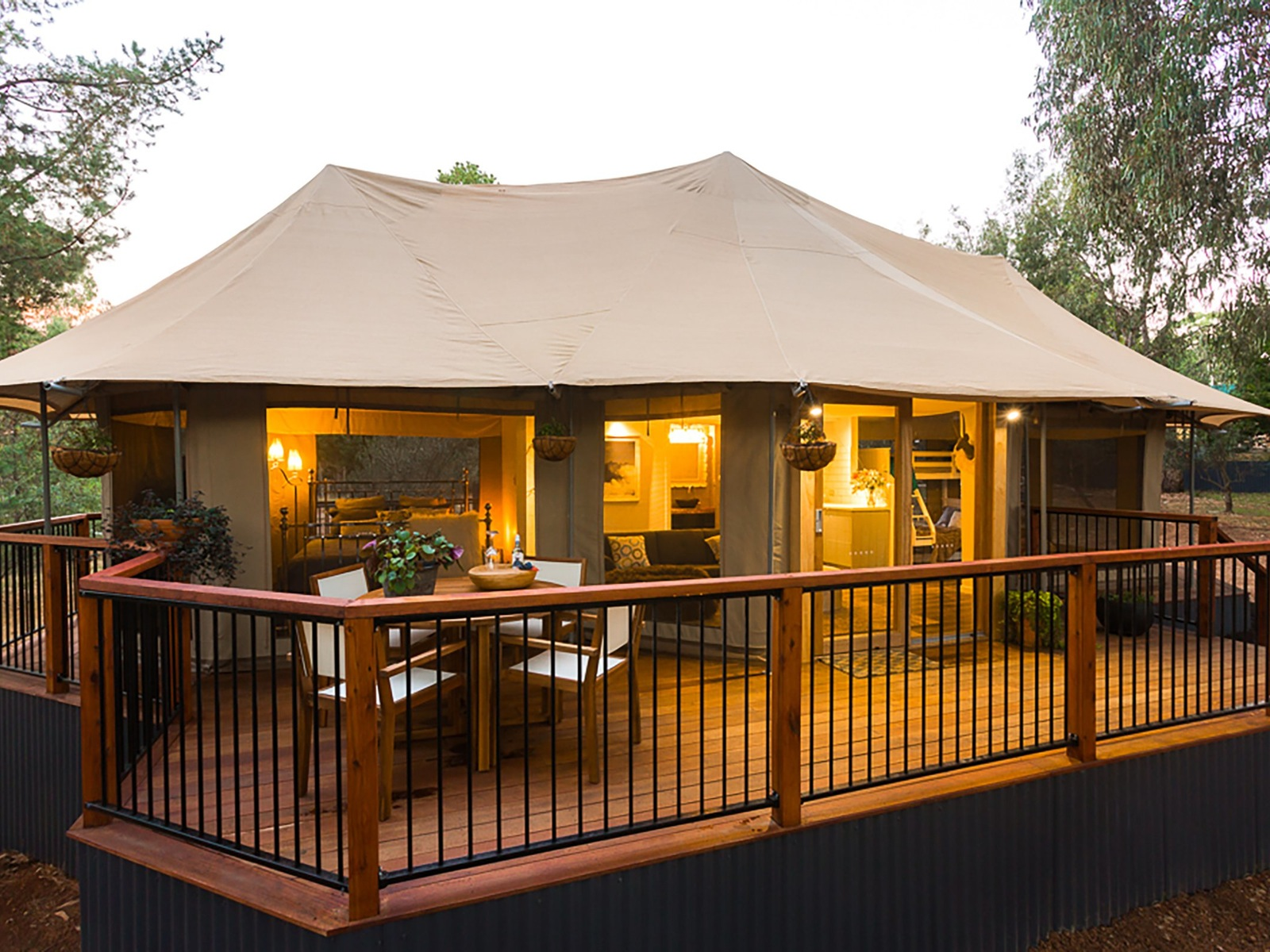 Glamping at Beechworth Wildlife Stays