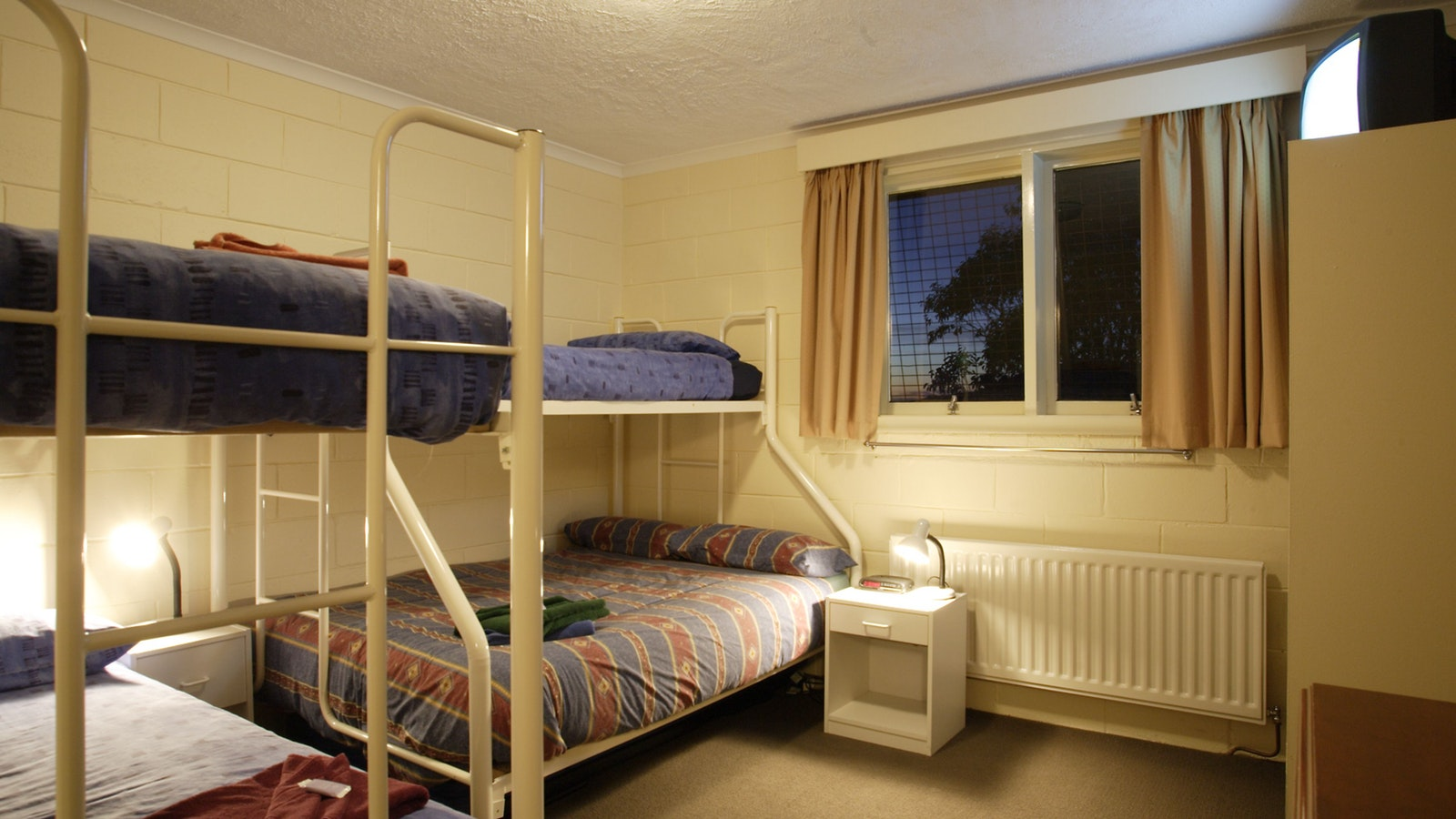 Four to Five Share Bunk Room
