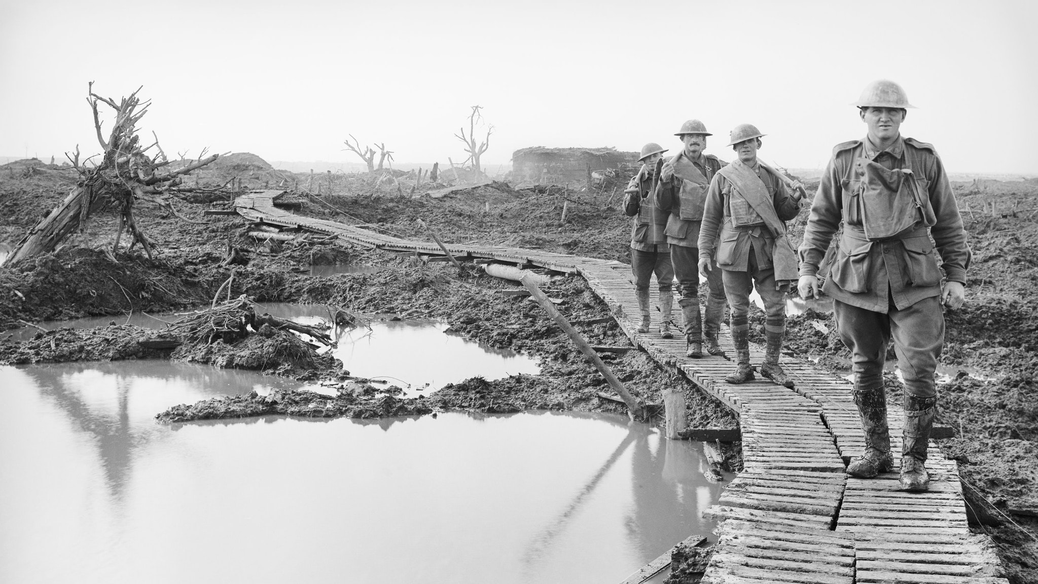 Western Front October 1917, unknown Australian Official Photographer