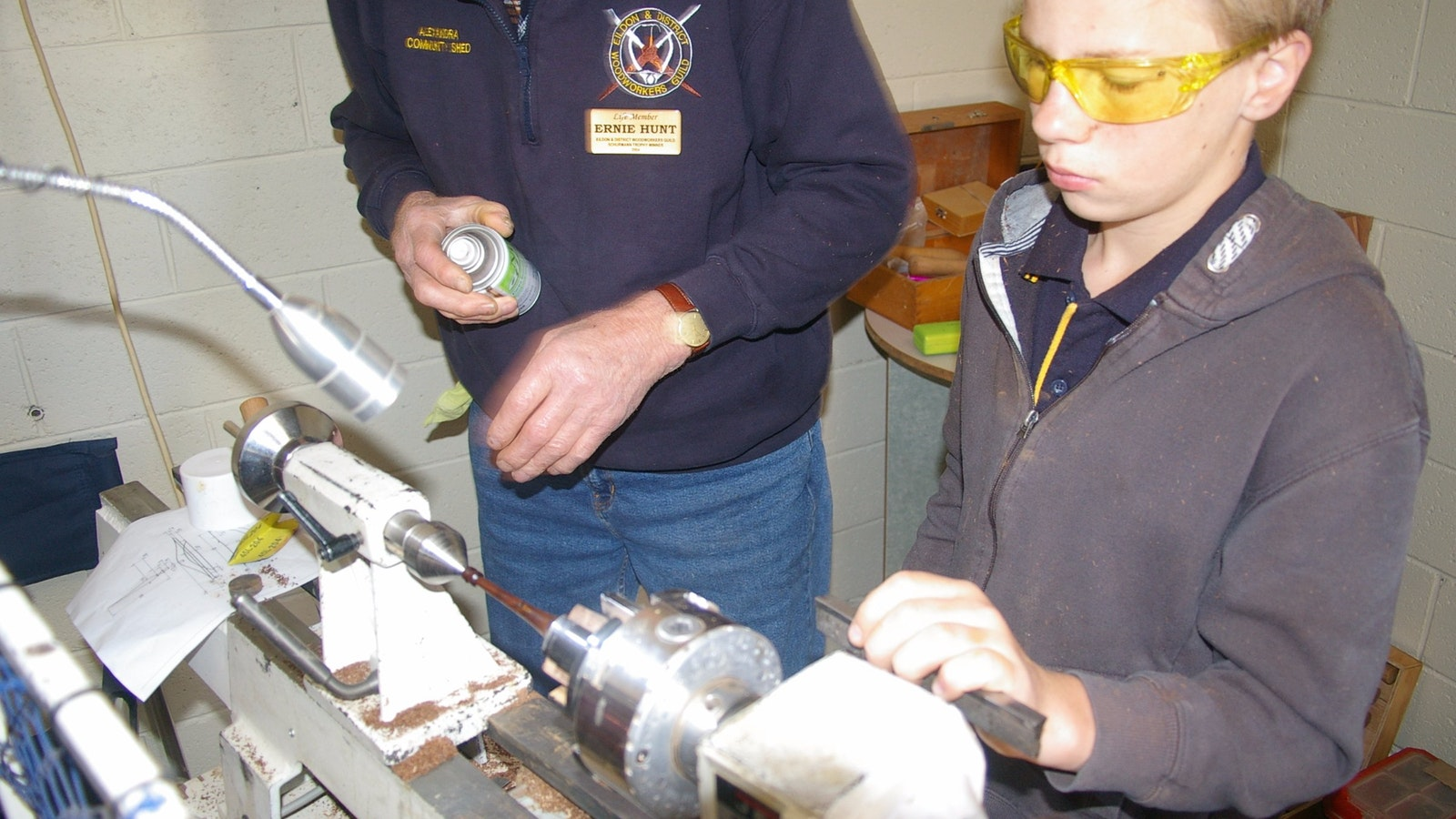 Wood turning demonstrations