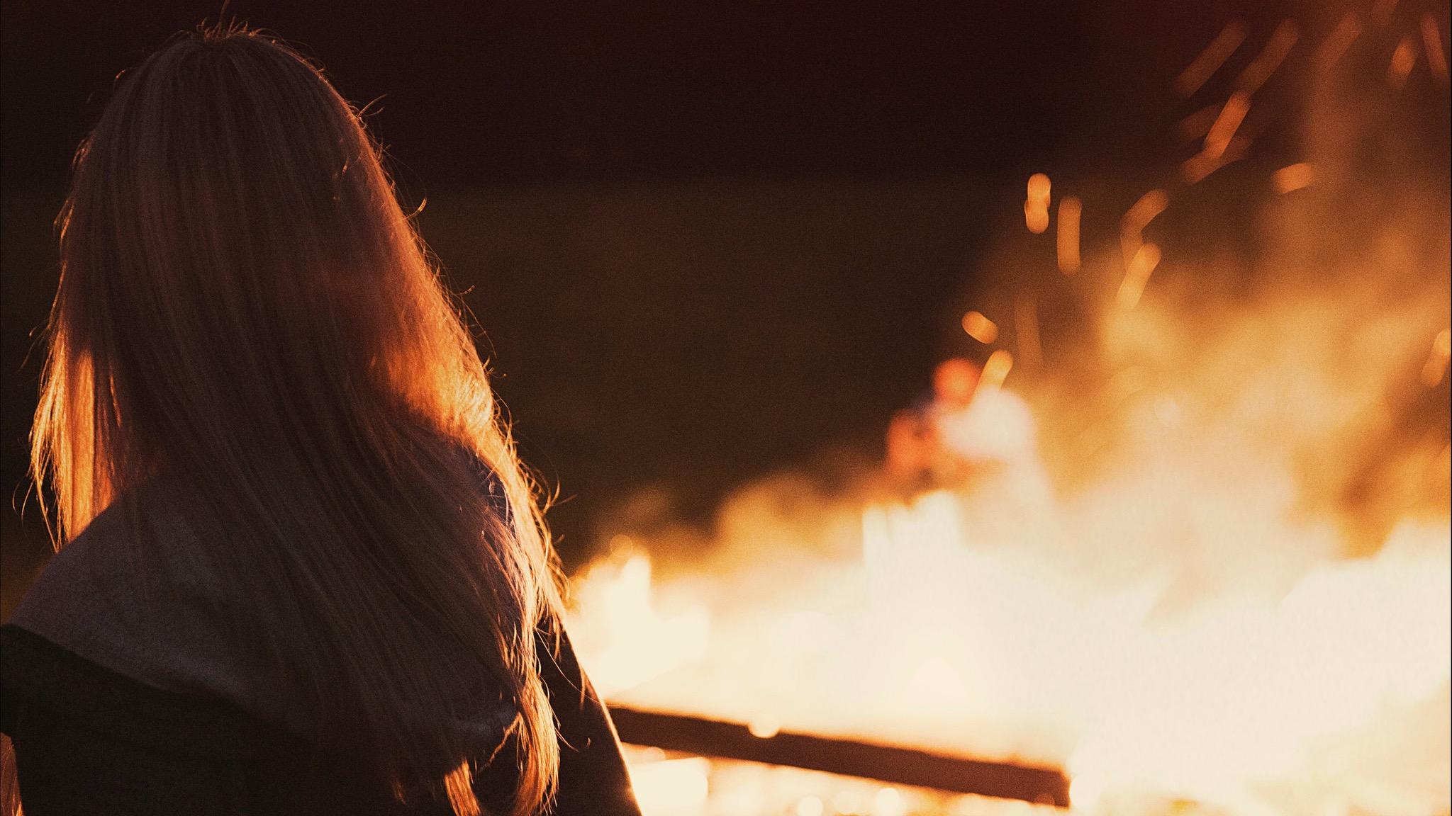 Beechworth Village Bonfire