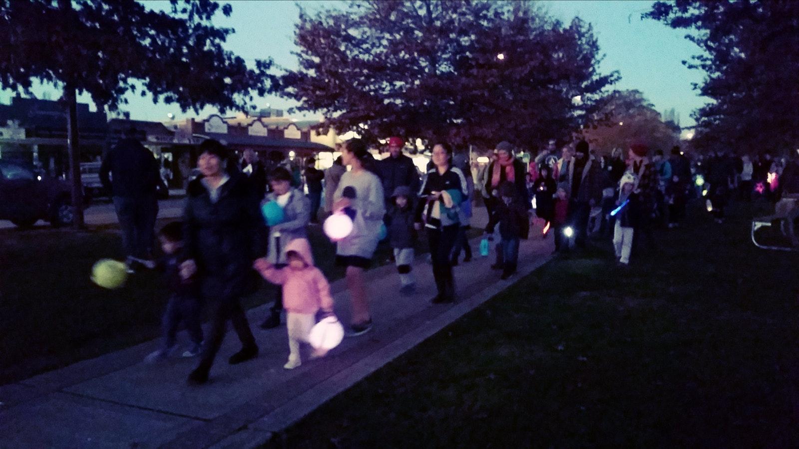 Mansfield Lantern Parade