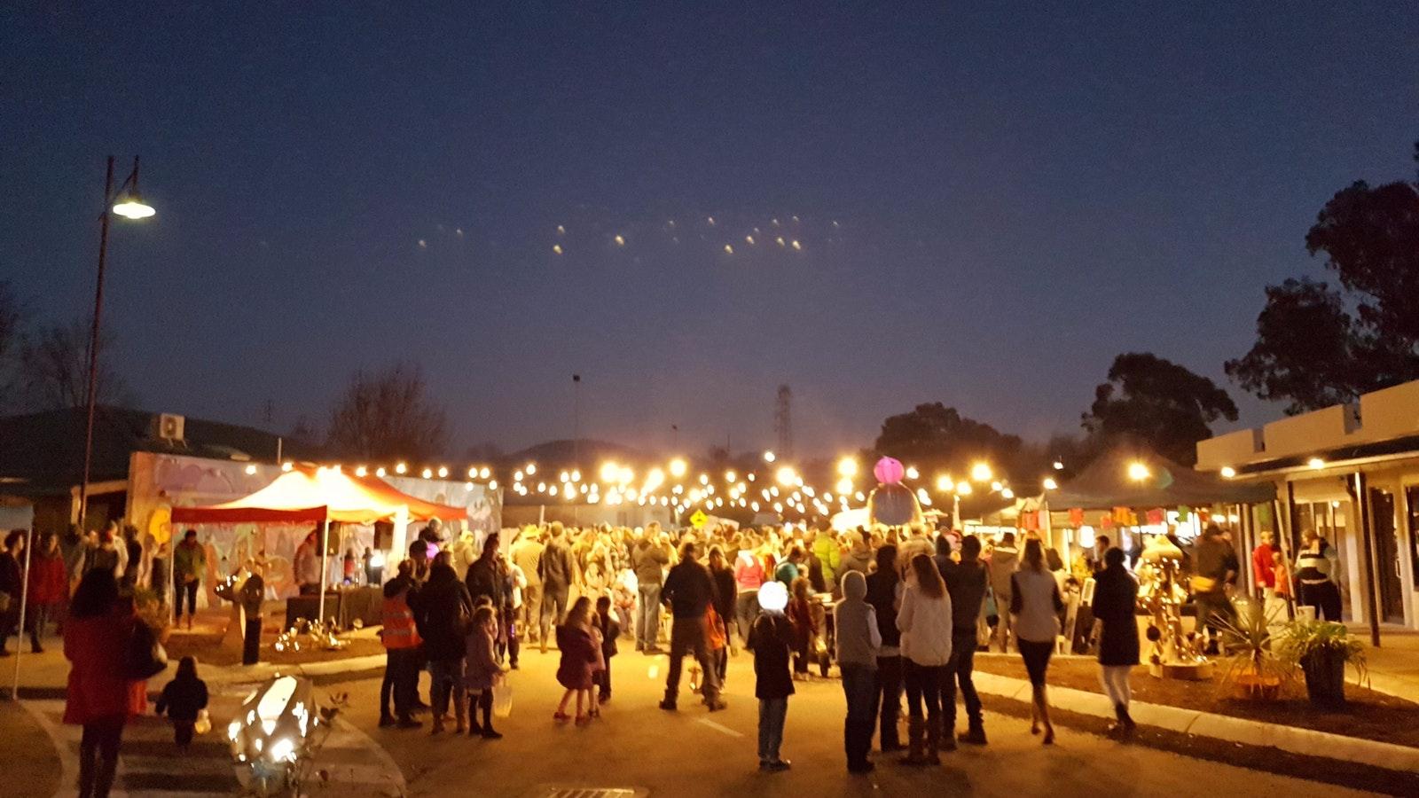 Mansfield Lantern Festival