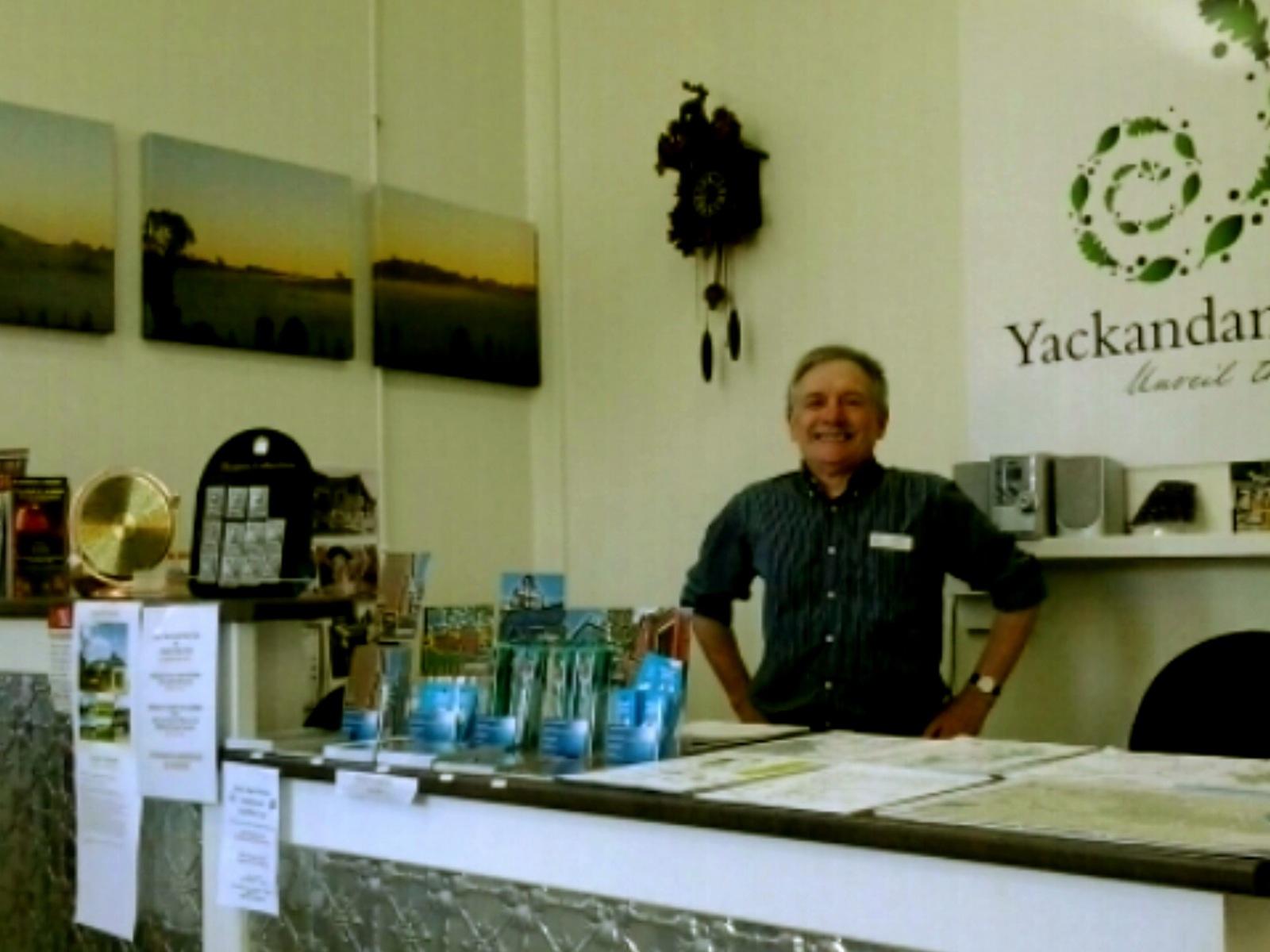 Yackandandah Visitor Centre Front Desk