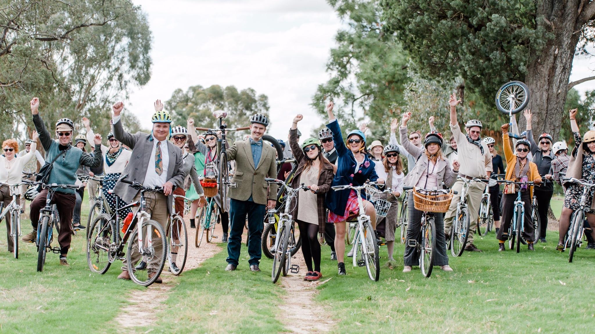 Group Photo at last year's Tweed Ride