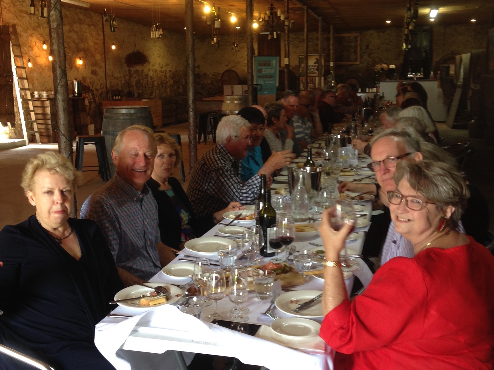 Good food, premium wine and enjoyable conversation at Taminick Cellars Vintage Long Lunch