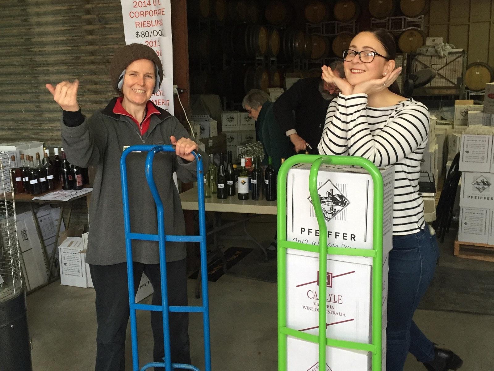 Pfeiffer Wines Rutherglen Giant Warehouse Sale