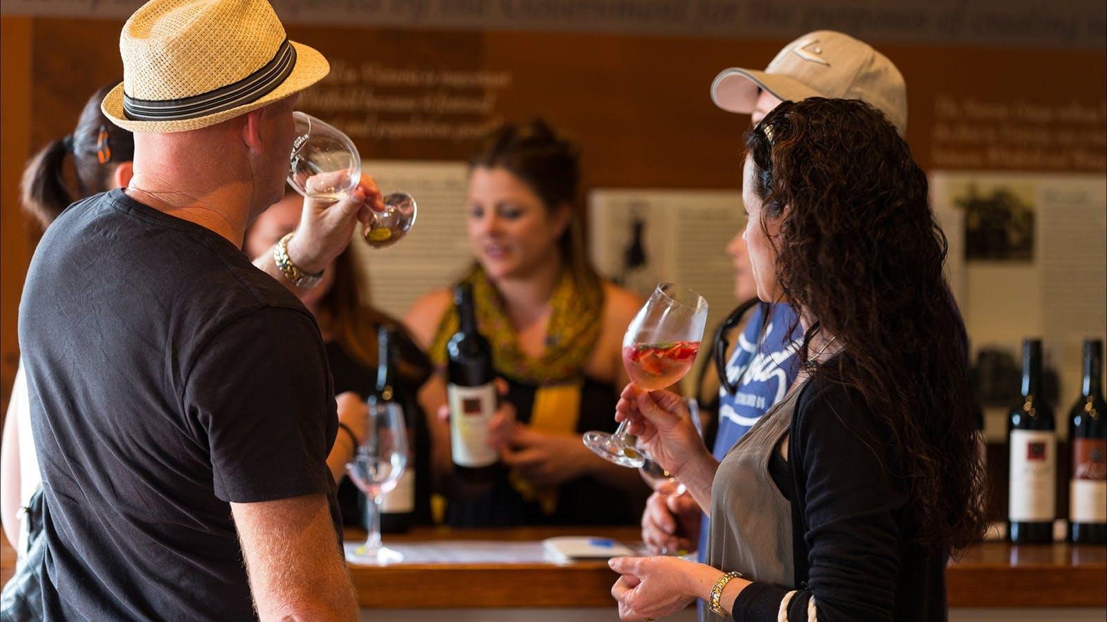 Wine Tasting at Cellar Door