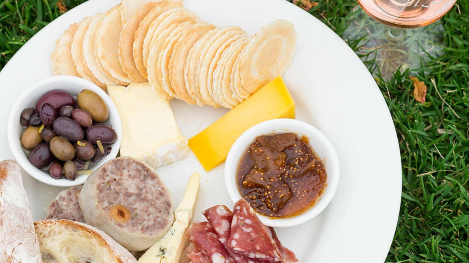 Kings Plate our antipasto, served over Easter