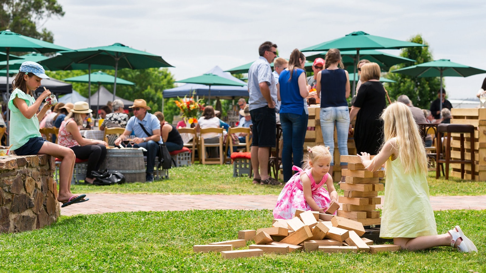 Fun for all the family at Pizzini's Easter Sunday Family Fun Day