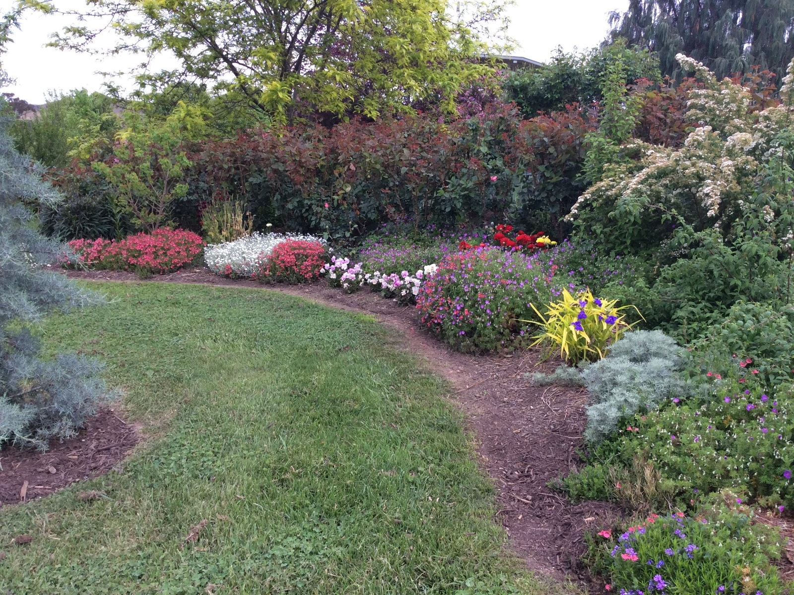 Pretty garden edging
