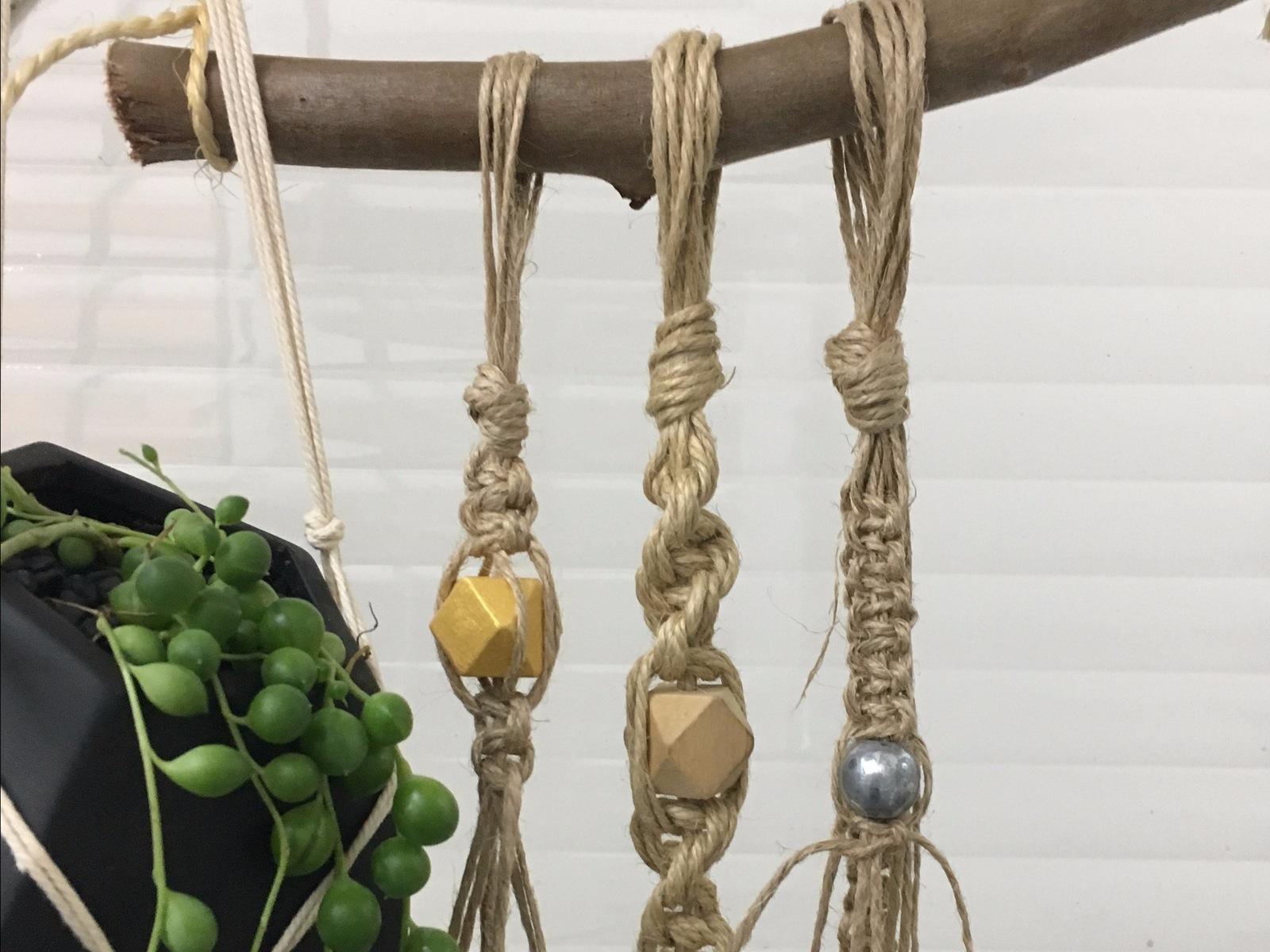 Beechworth Lost Arts Series - Make a Macrame Plant Holder
